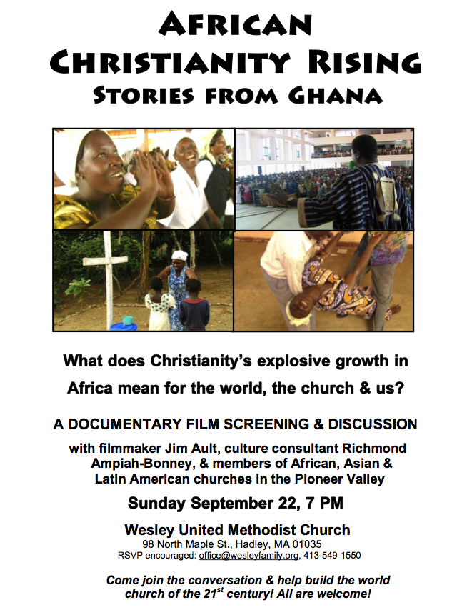 Flier for a screening/discussion